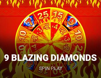 9 Blazing Diamonds