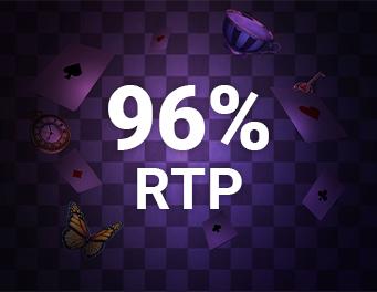 96% RTP