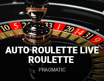 Auto Roulette live roulette