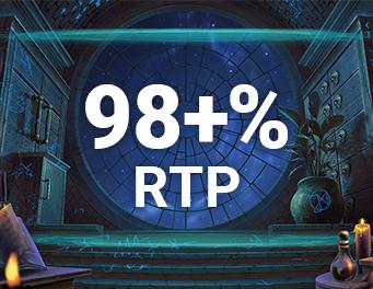 98+% RTP
